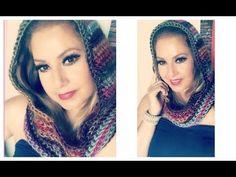 Bufanda Con Gorro Tejido A Crochet:) Ideal para invierno - YouTube