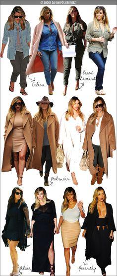 Kim Kardashian voltou com tudo! - Fashionismo