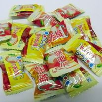 Lychee Chinese Hard Candy....so delish!!! Tastes like eating a fresh Lychee. Available at www.thesnackspot.com