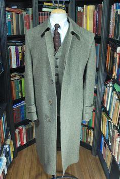 Cloak Back Overcoat by DAKS.