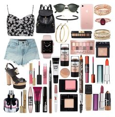 """""""Sin título #433"""" by frichu on Polyvore featuring moda, Boohoo, Versace, T By Alexander Wang, Ray-Ban, Carbon & Hyde, Pieces, Henri Bendel, Kendra Scott y NARS Cosmetics"""