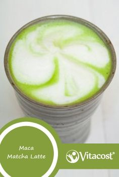 Maca Matcha Latte by @Melissa Squires-n-Mo's