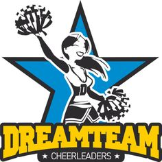 24 hour shipping on most orders.put Cheerleaders Dream Team Logo pictures on a t-shirts and custom made it at HICustom.net.