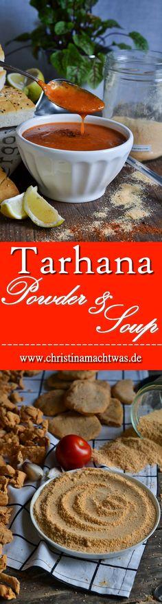 Tarhana ist sozusagen das Ur-Suppenpulver und mit frischen Zutaten sehr einfach selbstgemacht. Mit Paprika, Tomaten, Joghurt und einigen anderen Dingen eine leckere, fermentierte und gesunde Alternative zu Tütensuppen und Fertigprodukten. Suppe & Pulver-Rezept. --- Tarhana powder is a turkish staple everybody knows and loves. It's made out of fresh ingredients, fermented and dried. Make a Soup out of it in Minutes.