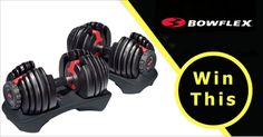 Enter for your chance to WIN Want a Set of Bowflex SelectTech 552 Adjustable Dumbbells For FREE. Other Prizes Are Available. Rules: Open to US Residents only. Enter Now! http://22s.com/022rh4/gi7p/+get
