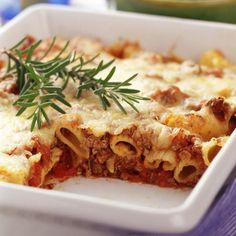 Weight Watchers Recipes | WeightWatchers.ca: Weight Watchers Recipe - Baked Beef Ziti