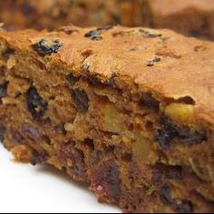 Gluten free Healthy Fruit Cake