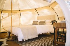 Yurt in Elgin, United States. GREEN ACRES // A Boutique Retreat Space for…