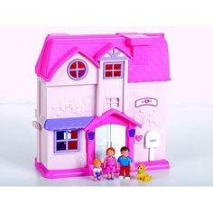 Amazon.com: You Me Happy Family Dollhouse: Toys & Games