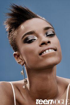 Kayla Scott Model - Makeup for Different Personalities | Teen Vogue