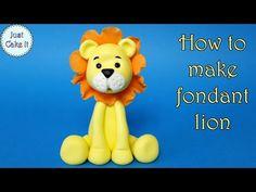 THE LION KING CAKE TOPPER TUTORIAL FONDANT - IL RE LEONE TORTA DECORATA PASTA DI ZUCCHERO - YouTube