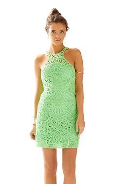 1fe5b430d4e67 Jaimie Knit Lace Shift Dress