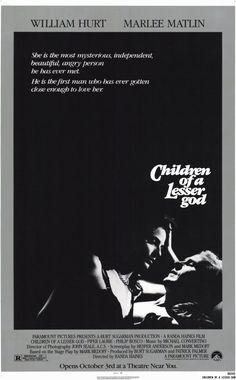 Children of a Lesser God (1986) Premiered 3 October 1986