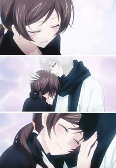 Awww I love nanami and tomoe together