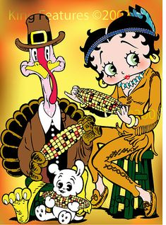 betty boop thanksgiving