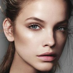 Amazing contouring and highlighting on Barbara Palvin by Jonas Bresban