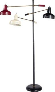 #Mid-Century #Modern 3-Light Floor Lamp #madmen #mcm #interiordesign