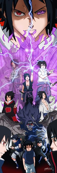 Sasuke: Rise of the Avenger by JazylH.deviantart.com on @deviantART