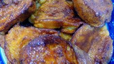 Rabanadas de Leite French Toast, Meat, Breakfast, Muffins, Portugal, Christmas, Christmas Sweets, Resep Pastry, Portuguese Recipes