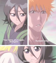 "Ichiruki scenes from Fade to Black  ""Your name, say it again, shinigami"" #1"
