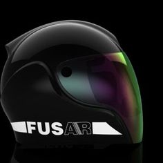 Futuristic Helmets Use Smart Glasses, Augmented Reality MAY 30, 2014 Fusar Technologies is introducing the new Guardian GA-1 motorcycle helmet, which incorporates a heads-up display (HUD) system, plus video recording, voice commands and augmented reality technology. you can view the vid