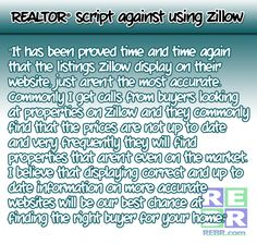 How to talk to sellers about Zillow | #REALTORS
