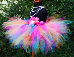 Rainbow Birthday Pixie Tutu