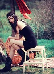 Halter vest summer Black dress