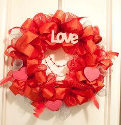 Valentines Day Wreath!!