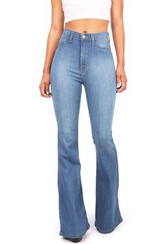 Jango Flared High Waist Bell Bottom Jeans