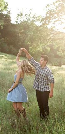 considering james does this to me ALL the time... it should probably be in our engagement pictures :)