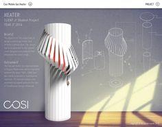 Gas Heater Design by Nicola Verreynne at Coroflot.com