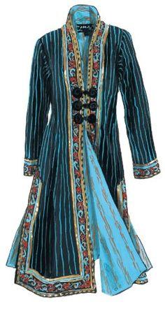 Woman Indian Coat.