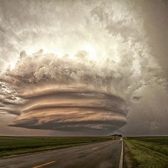 "Beautiful Supercell ""Titan"" – Photography by Caleb Elliott. OurPlanetDaily"