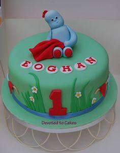 iggle piggle cake - Google Search First Birthday Cakes, 10th Birthday, 1st Birthday Parties, Birthday Ideas, Garden Cakes, Night Garden, Cakes For Boys, Celebration Cakes, Party Cakes