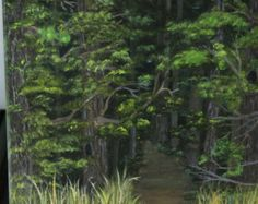 PATHWAY TO DREAMS. A look inside the beautiful country woods. Find yourself within the painting