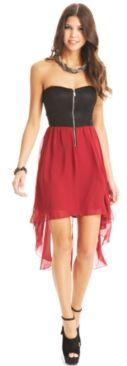 #B Darlin                 #Juniors                  #Darlin #Juniors #Dress, #Strapless #Lace #Colorblock #High-Low               B Darlin Juniors Dress, Strapless Lace Colorblock High-Low                                              http://www.snaproduct.com/product.aspx?PID=5508236