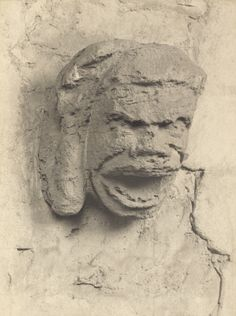 [Ely Cathedral: Gargoyle in Nave Triforium] (Getty Museum) Ely Cathedral, Sea Serpent, Getty Museum, Green Man, Art And Architecture, Creepy Stuff, Statue, Gallery, Bodies