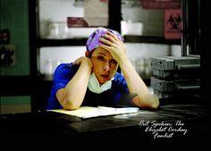 Alex in ER as Elizabeth Corday