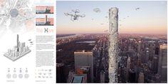 The Hive: Drone Skyscraper- eVolo   Architecture Magazine