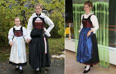 Hello all, Today I will do a costume tour of Tyrol, or Tirol. This famous region in the Austrian Alps has a distinct costume tradi. Michaela, Victorian, Costumes, Traditional, Embroidery, Dresses, German, Southern, Fashion