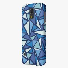 It's cute! This Abstract Blue Ice Crsytal Pattern Case For Galaxy S5 is completely customizable and ready to be personalized or purchased as is. Click and check it out!