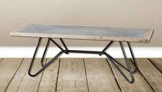 Tavolo Stile Industriale : Tavolo castagno in massello in stile a besana in brianza