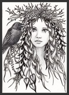 Pagan Adult Colouring Pages