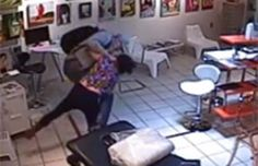 Video: Vicious attack on woman in Vancouver tattoo shop