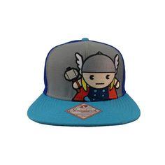 5d5702c4f35 Thor Kawaii Flatbill Snapback Cap
