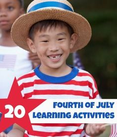 LOVE these 20 Activities for Fourth of July that sneak in a bit of learning.