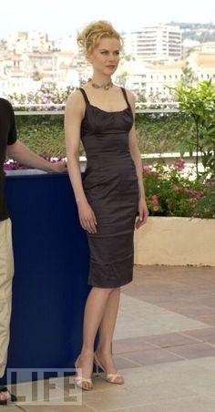 Nicole Kidman at the 2003 Cannes film festival