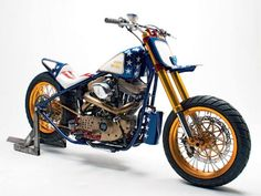 1998 Harley-Davidson Sportster: Super-Moto | Baggers THIS WOULD BE BAD ASS TO BAR HOP ON.