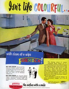 Formica ®: 1970s Formica advertisement